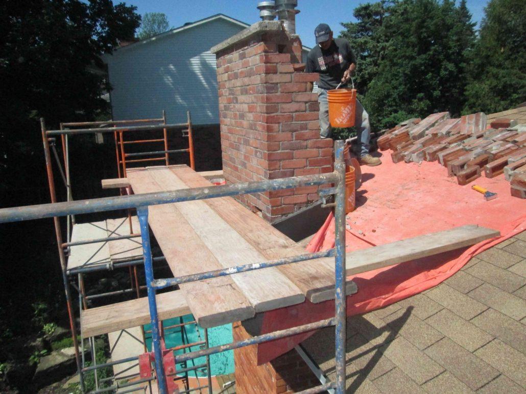 Chimney Repair Canadian Masonry Services
