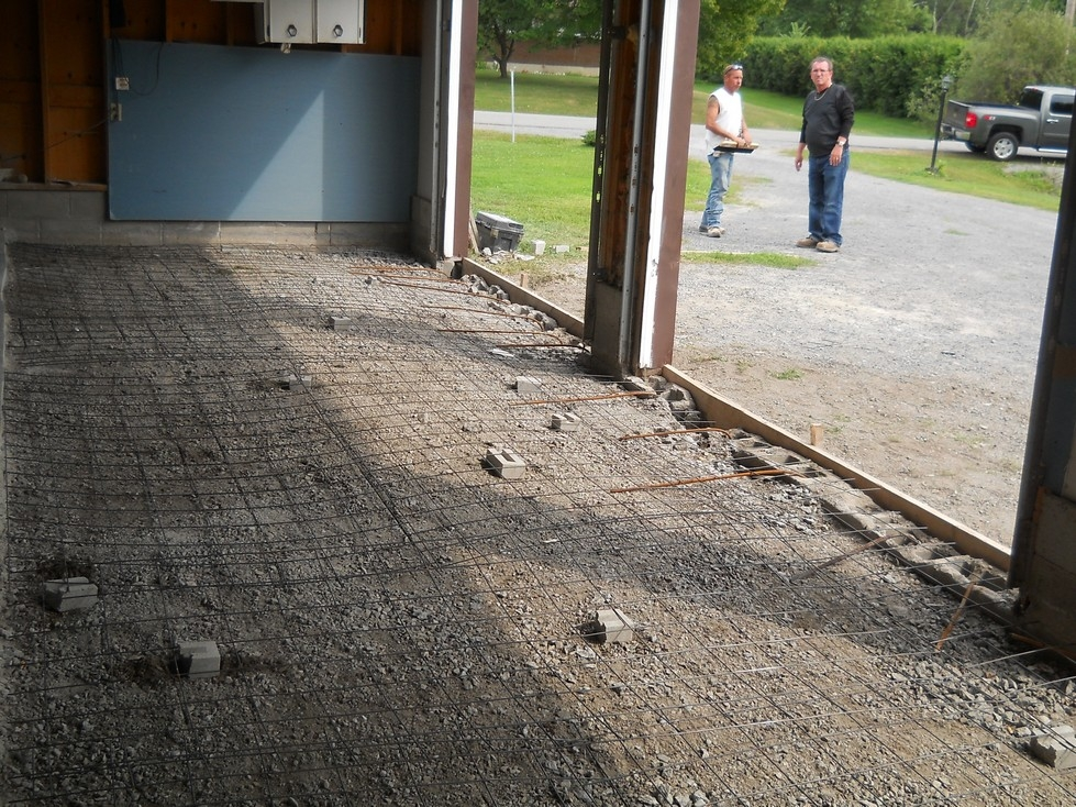 Concrete Garage Floor Repair and Replacement - Canadian Masonry Services