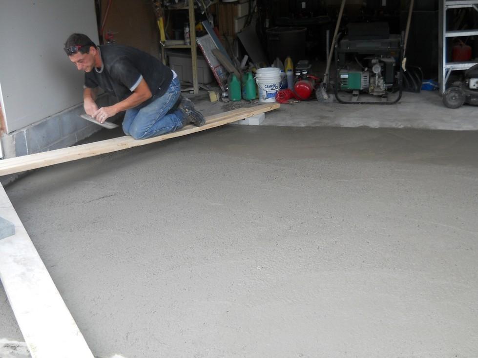 Concrete Garage Floor Repair And Replacement Canadian