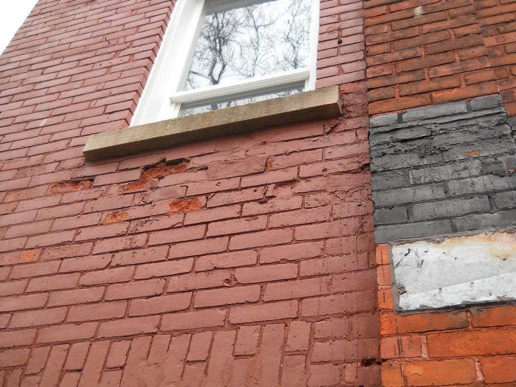 Spalling Brick Canadian Masonry Services